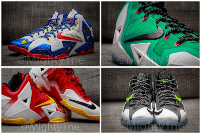 nike lebron 11 id production mighty1ne 0 02 Four Different Nike LeBron XI iD Designs by @Mighty1ne