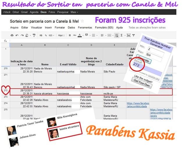 RESULTADO DO SORTEIO EM PARCERIA COM CANELA E MEL - 3