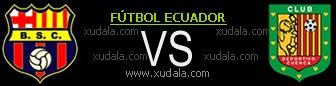 Ver Online BARCELONA vs DEPORTIVO CUENCA EN VIVO partido online, 21 Octubre (Copa Credifé 2012) ()
