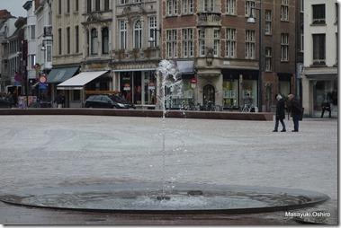 フロートマルクトの噴水