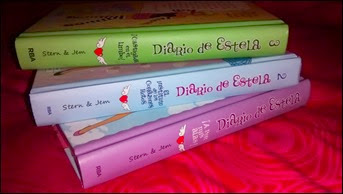 Tres primeros libros de Diario de Estela