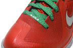nike lebron 9 gr christmas 6 04 Throwback Thursday: Look Back at LBJs 2011 Christmas Shoes