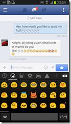 برنامج Emoji Keyboard للأندرويد - سكرين شوت 10