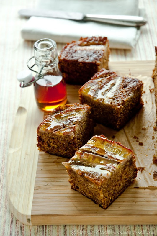 Sour Cream Maple Banana Cake (0014) by Meeta K. Wolff