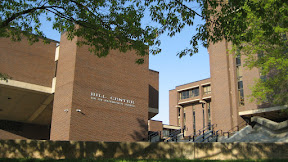 The Hill Center for Mathematical Sciences where the Computer Science department is. I had an office in this building when I was a grad student at Rutgers