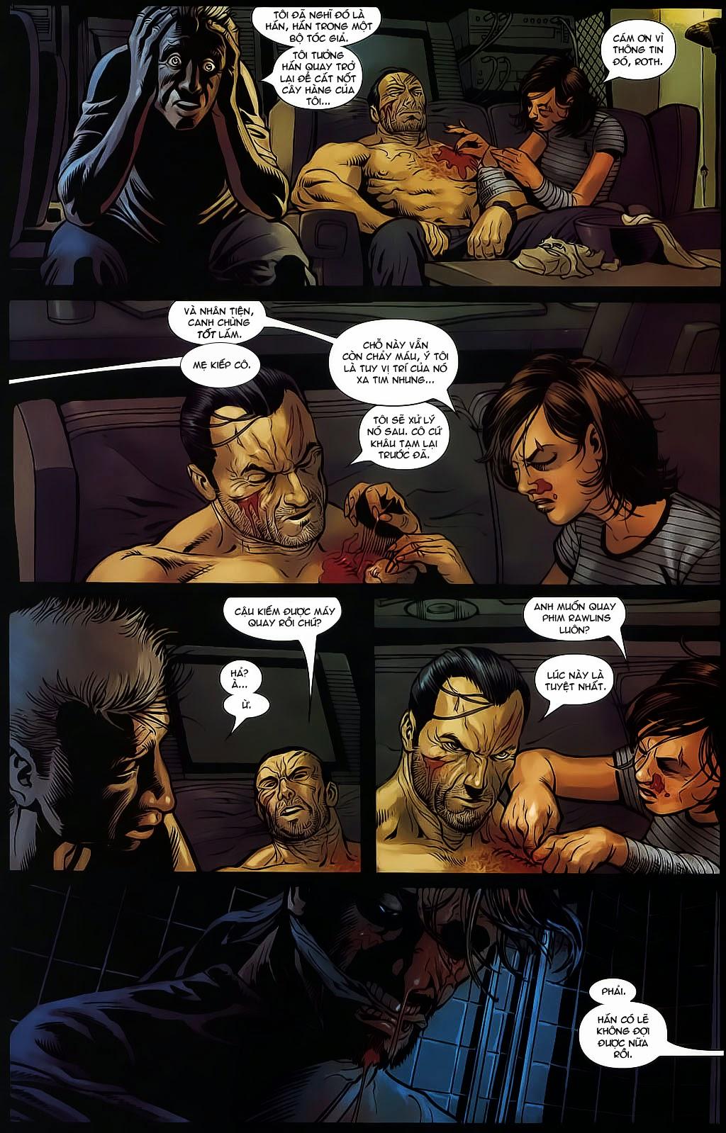 The Punisher: Trên là Dưới & Trắng là Đen chap 6 - Trang 12