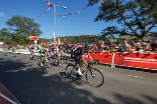 A sprint finish in Dartmouth
