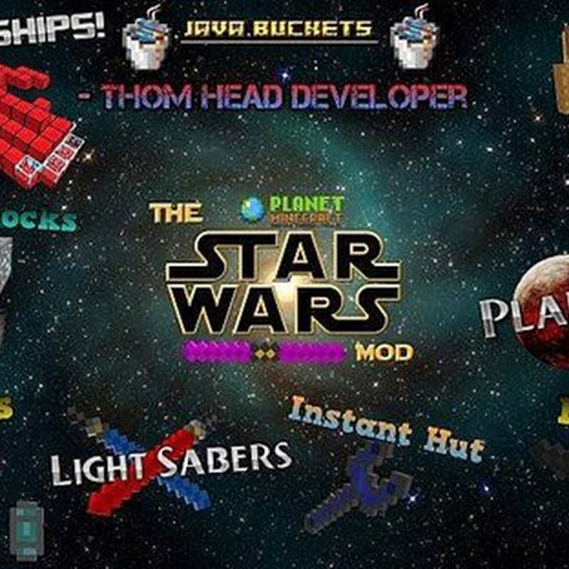 Minecraft 1.6.4 - Star Wars Mod