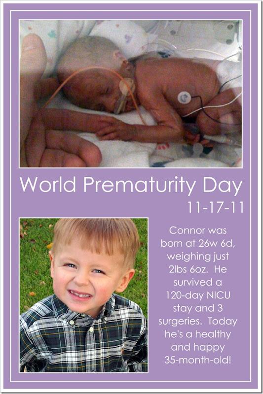 World Prematurity Day  11-17-11