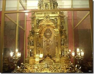 Custodia procesional de la catedral de Valencia