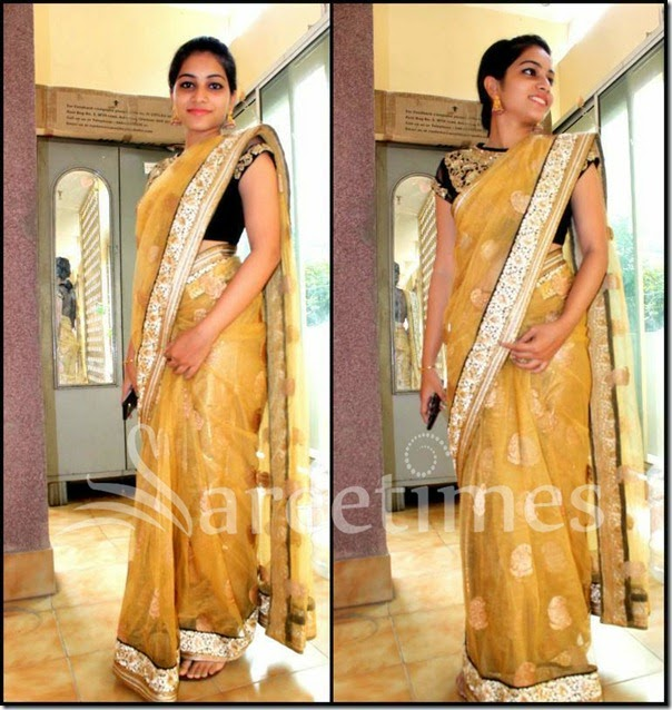 Punarnavi_Yellow_Net_Saree