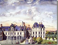 Hotel des Condé vers 1680