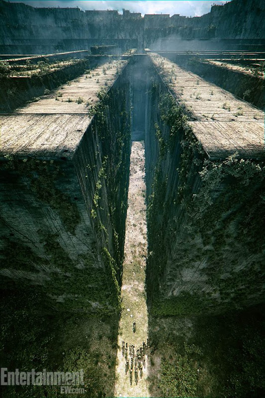 The Maze Runner Concept Art via EW