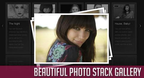 Galería Photostack con jQuery y CSS3