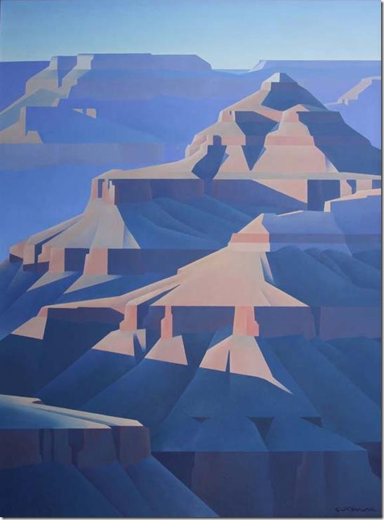 grand canyon1-Ed-Mell-Enkaustikos