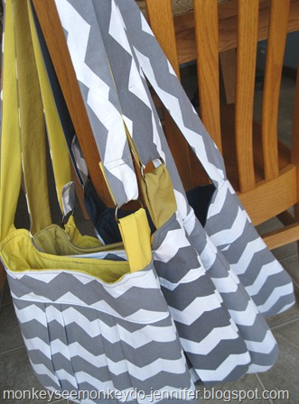 chevron gray and yellow bags (14)