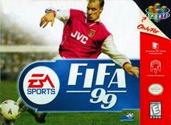 Fifa 99 n64 Capa