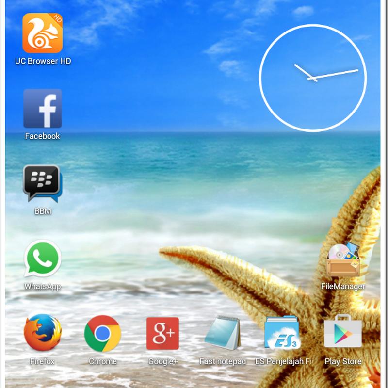 Cara Membuat Screenshot Atau Tangkapan Layar Pada Tablet Android Advan Vandroid T1J