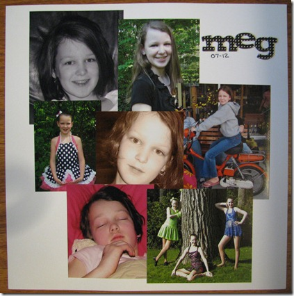 load27 Title Page for All about Meg album