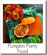 pumpkin party food