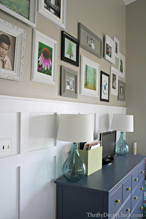 gallery wall board and batten