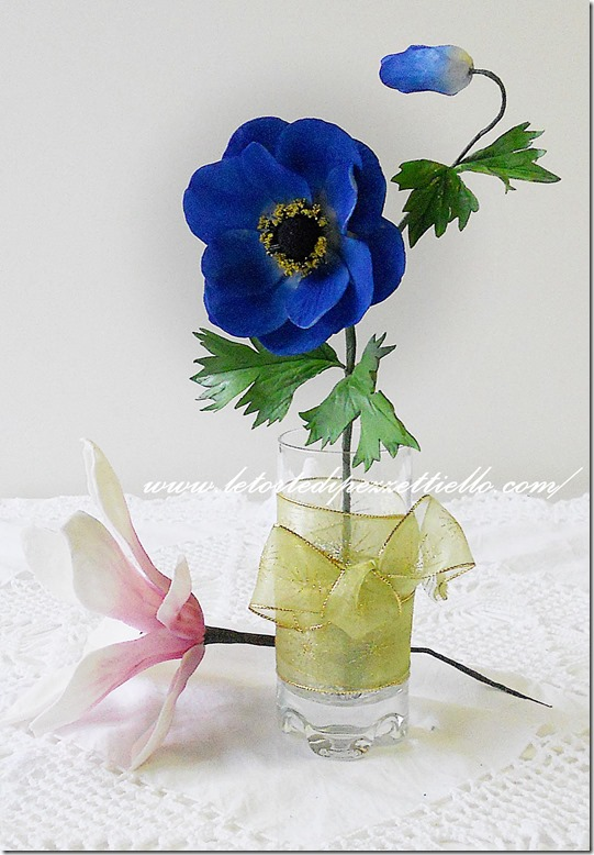 Gardenia, anemone e magnolia