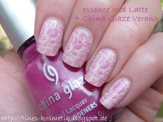 essence Iced Latte Stamping 1