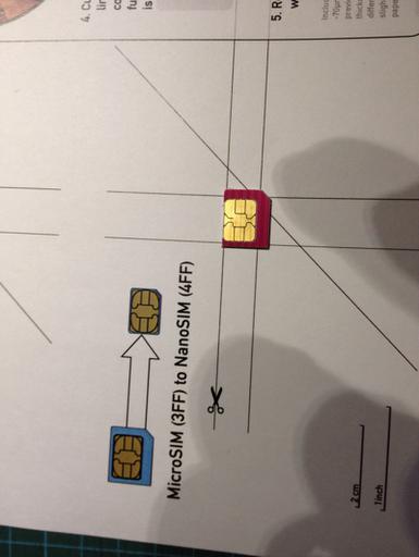 Mini Liew: Cut Your Micro Sim Card Into Nano Sim Card