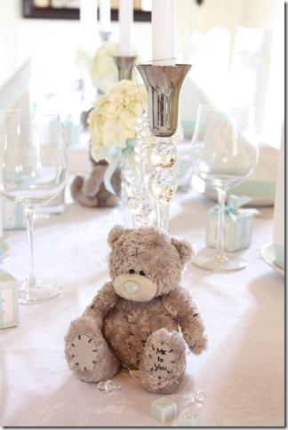 barnedåp inspirasjon baby gutt blå borddekking blomster IMG_2525