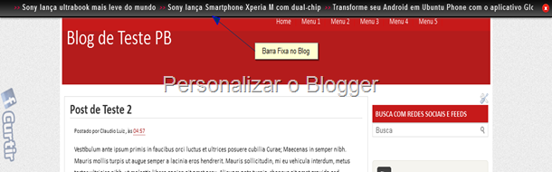 barra fixa no blog