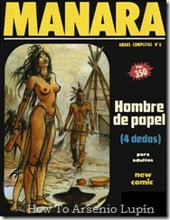 P00007 - Milo Manara  - Hombre de Papel.howtoarsenio.blogspot.com #7