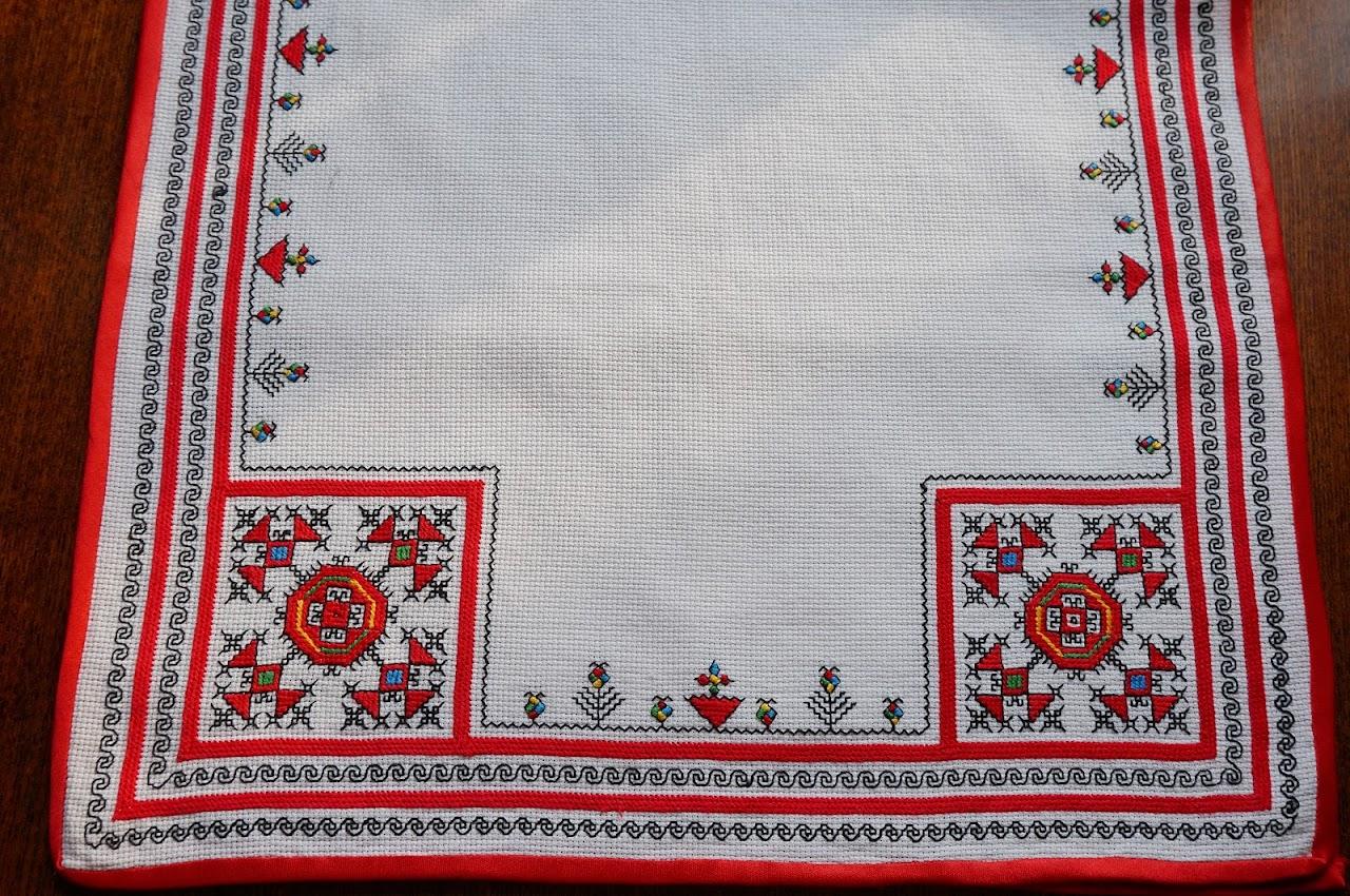 Вышивка чувашская народная