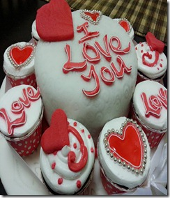 I Love You Cake Designs