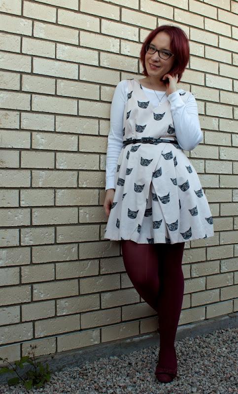 feline karma dress