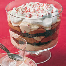 Triple-Chocolate Peppermint Trifle