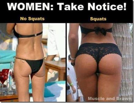 squat glute
