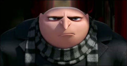 Gru, potential crossword setter