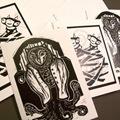 Linocut Card Assortment