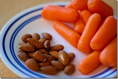 Carrots Almonds