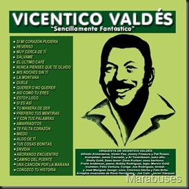 Vicentico Valdés - Sencillamente Fantástico - Front