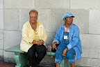 Guests Gloria Wright and Dr. Lillie Mae.