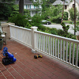 Porch railing and Post Molding