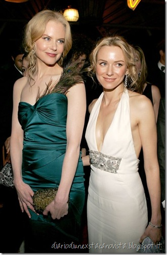 Nicole Kidman & Naomi Watts - Golden Globes, January 16th 200