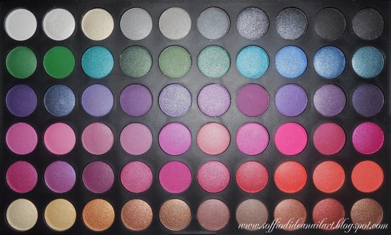 Palette 120 Colori Jelly Matte Eyeshadow- metà2