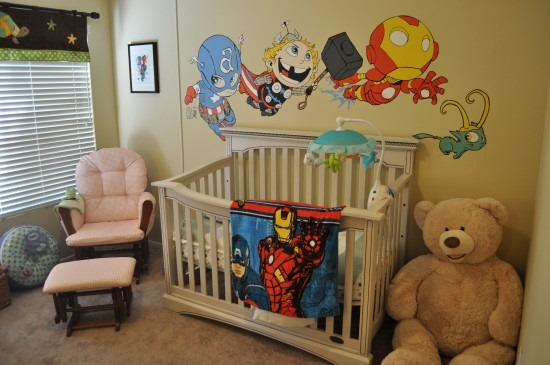 Marvel-ous Nursery by Geek Trooper