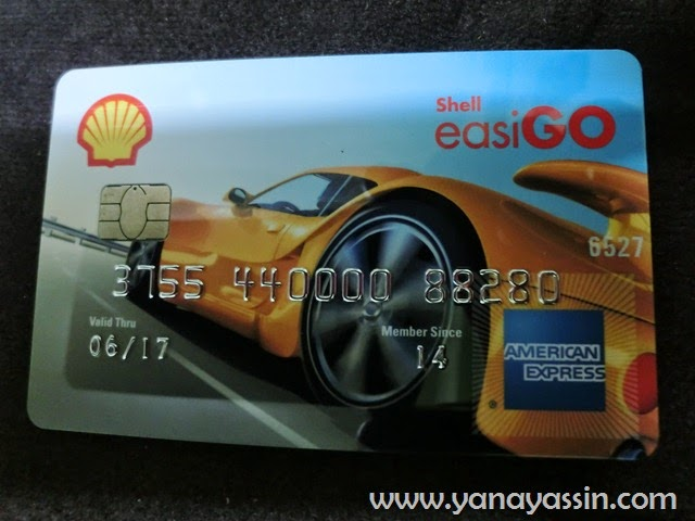 Shell EasiGo American Express Prepaid Card | Isi Minyak dan Shopping