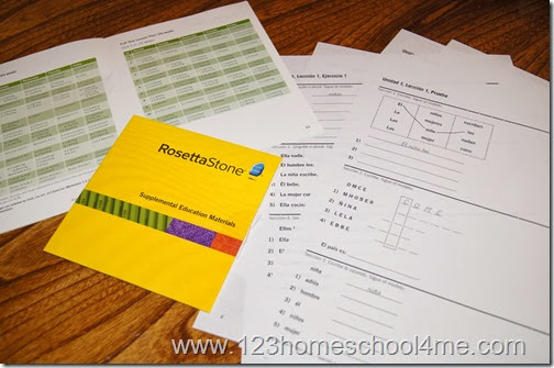 Rosetta Stone Homeschool is easy for independent learning for kids age 6 and up