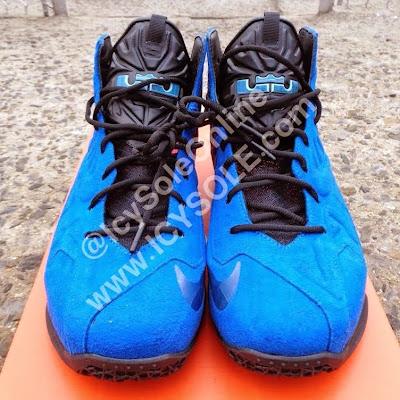 nike lebron 11 nsw sportswear ext blue suede 1 02 First Look // Nike Sportswear LeBron XI EXT Blue Suede