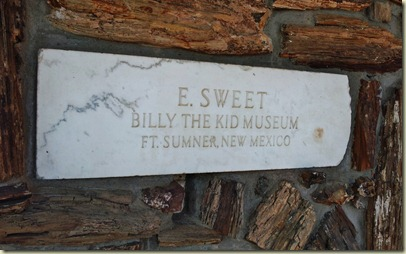 Billy the Kid Museum Ft Sumner, NM (2)