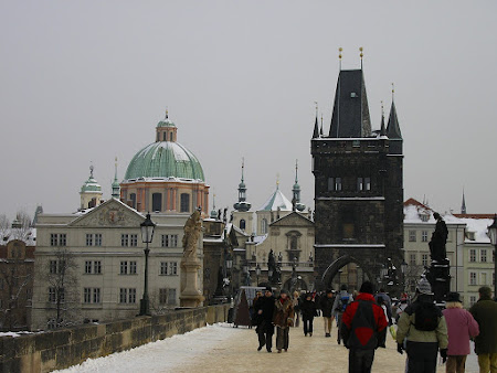 Obiective turistice Cehia: podul Carol Praga